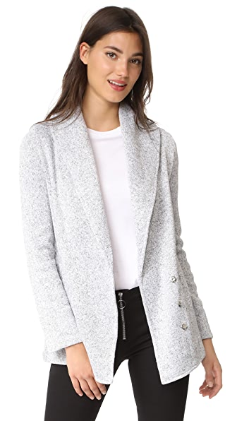 BB Dakota Jack by BB Dakota Sol Jacket - Light Heather Grey