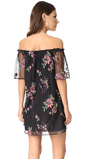 BB Dakota Lacole Off Shoulder Dress