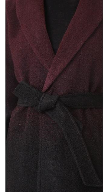 BB Dakota Evan Ombre Woolen Coat