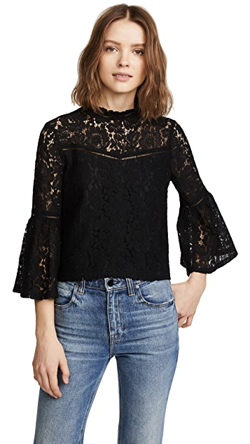BB Dakota Jack by BB Dakota Miley Lace Blouse
