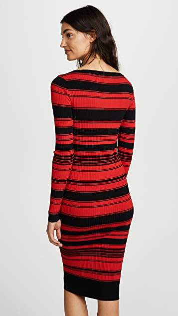 BB Dakota Dunn Striped Sweater Dress