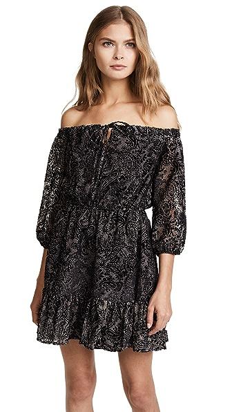 BB Dakota Westerly Burnout Velvet Dress at Shopbop