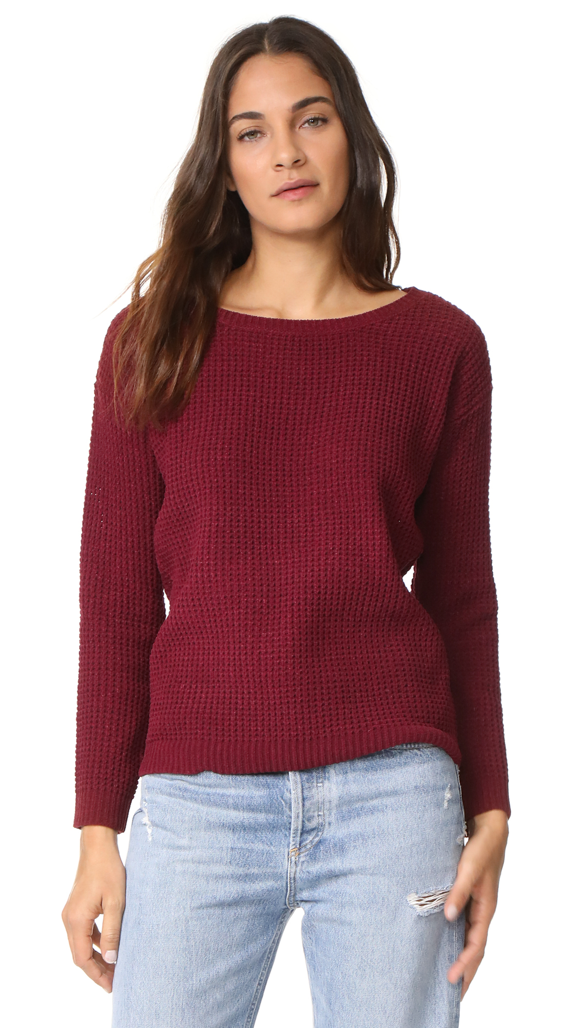 BB Dakota Eugene Sweater - Bordeaux