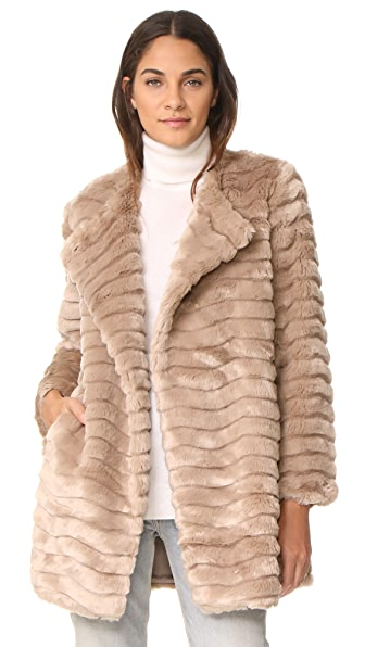 BB Dakota McCoy Faux Fur Coat at Shopbop