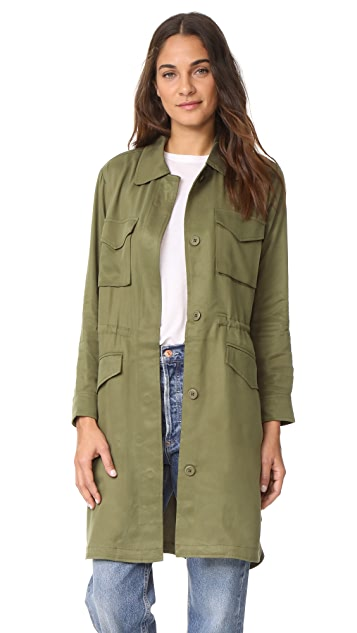 BB Dakota Averie Trench Coat