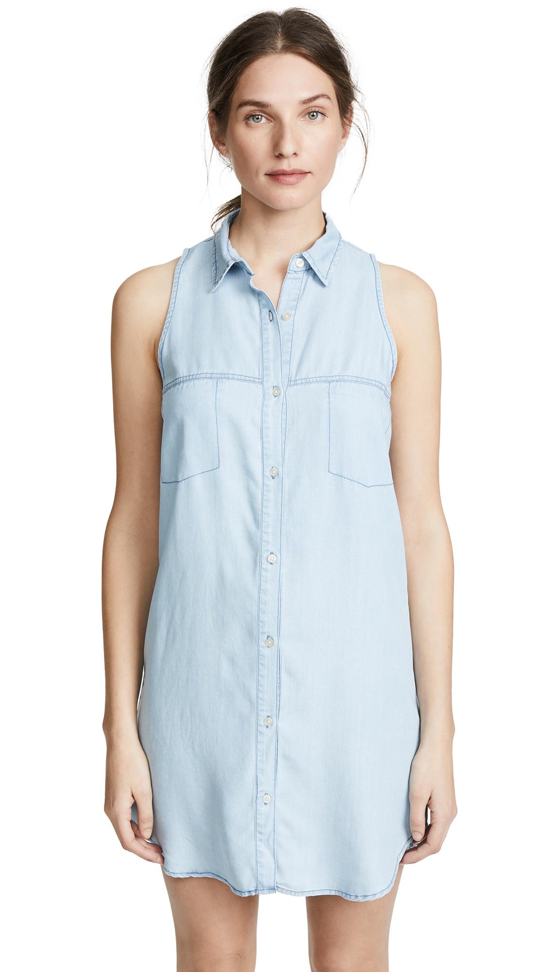 BB Dakota Brantley Shirtdress In Chambray