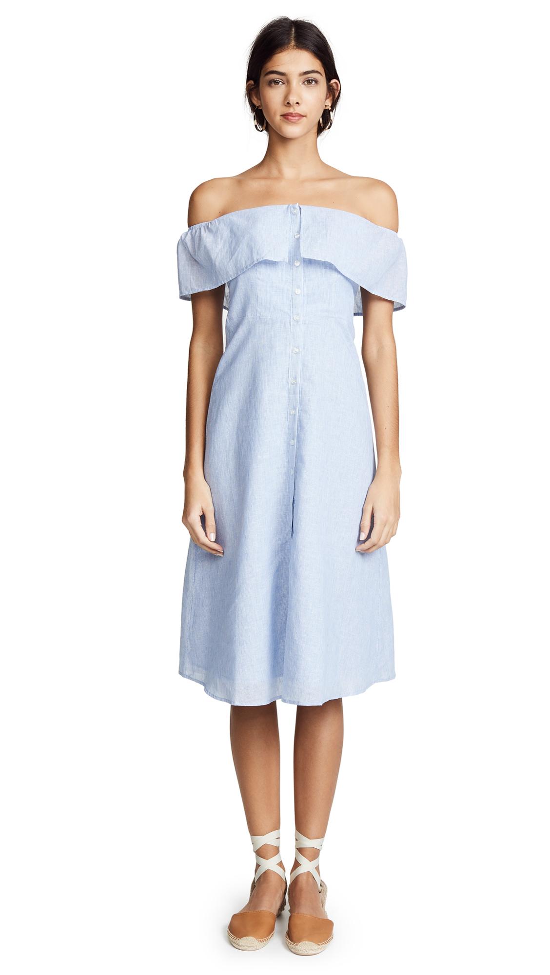 BB Dakota Jeanne Dress - Light Blue