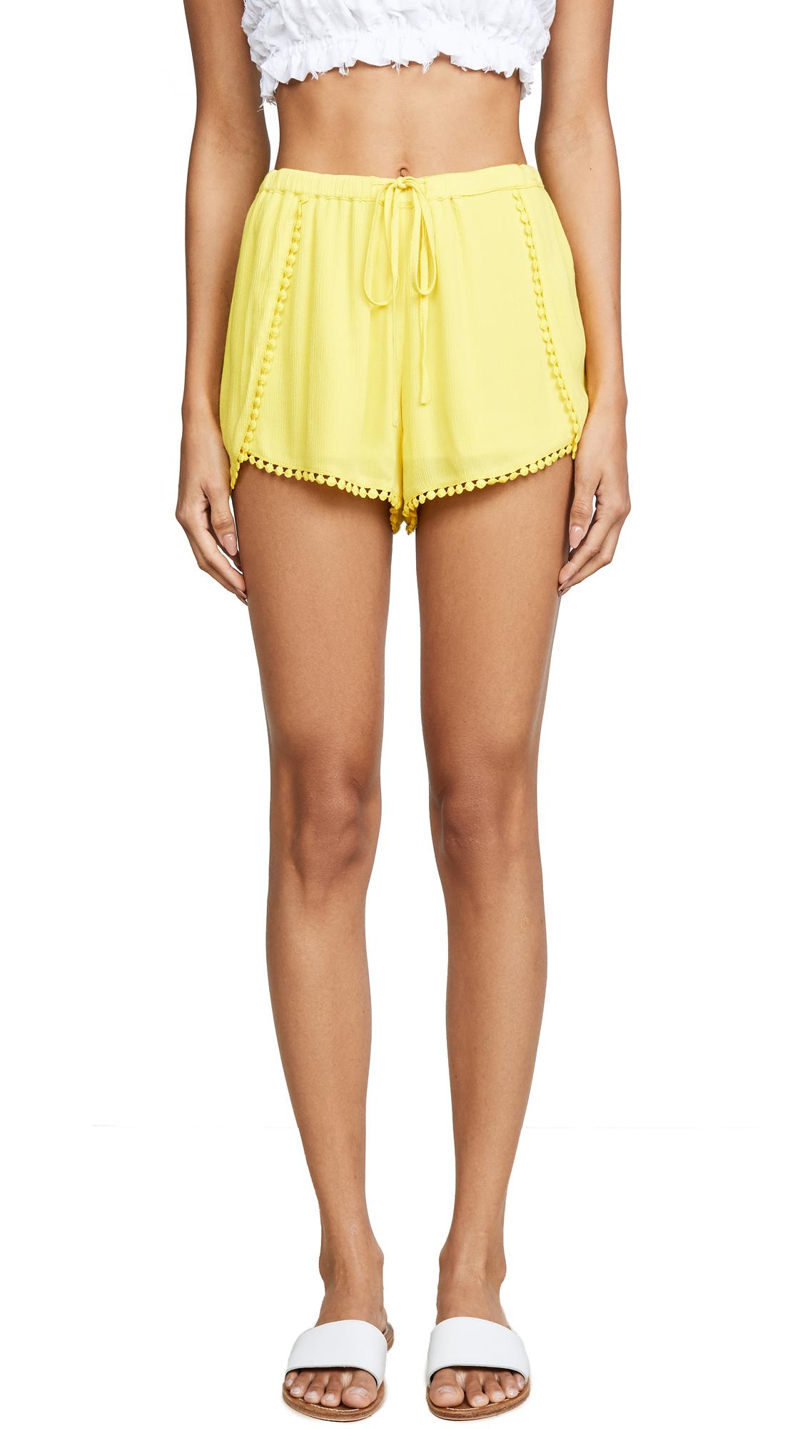 BB Dakota Jack by BB Dakota Caroline Shorts - Lemon Yellow