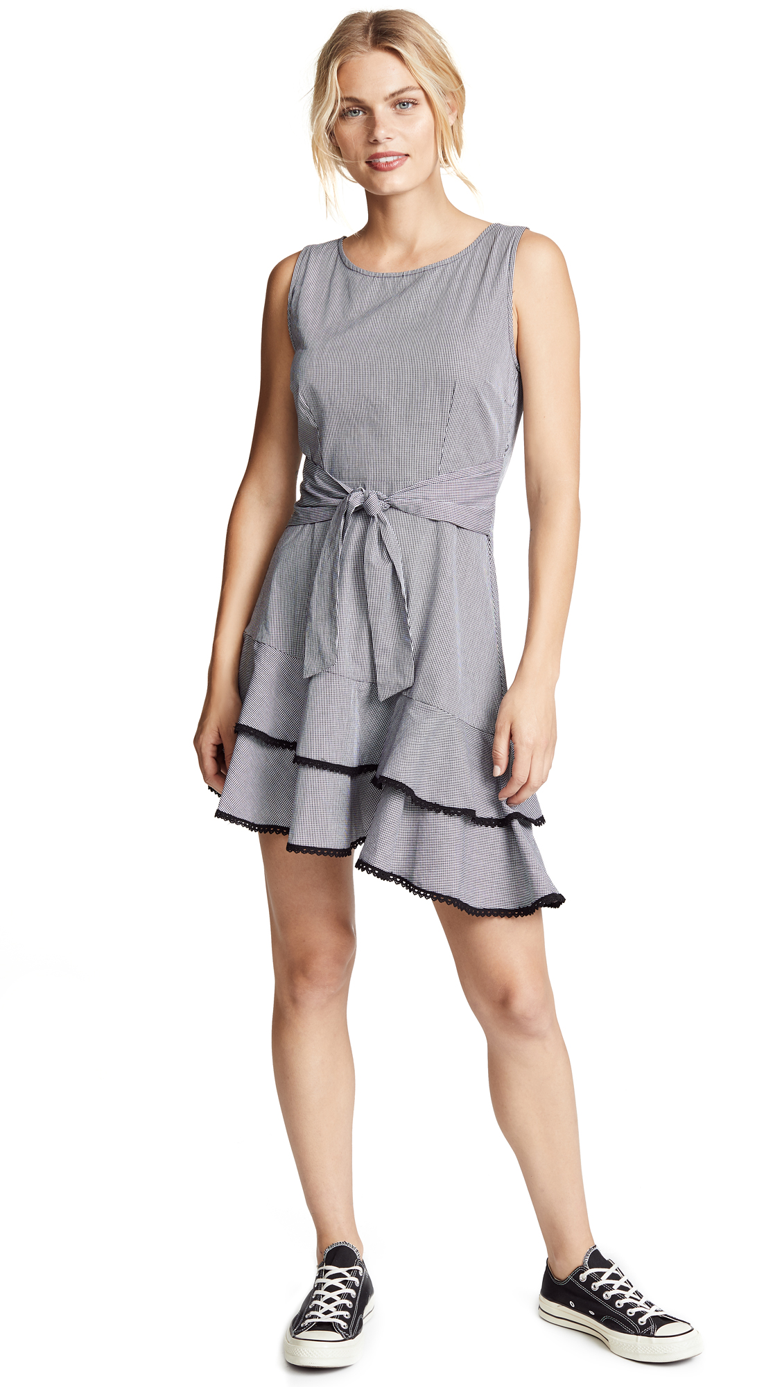BB Dakota Holly Golightly Gingham Dress