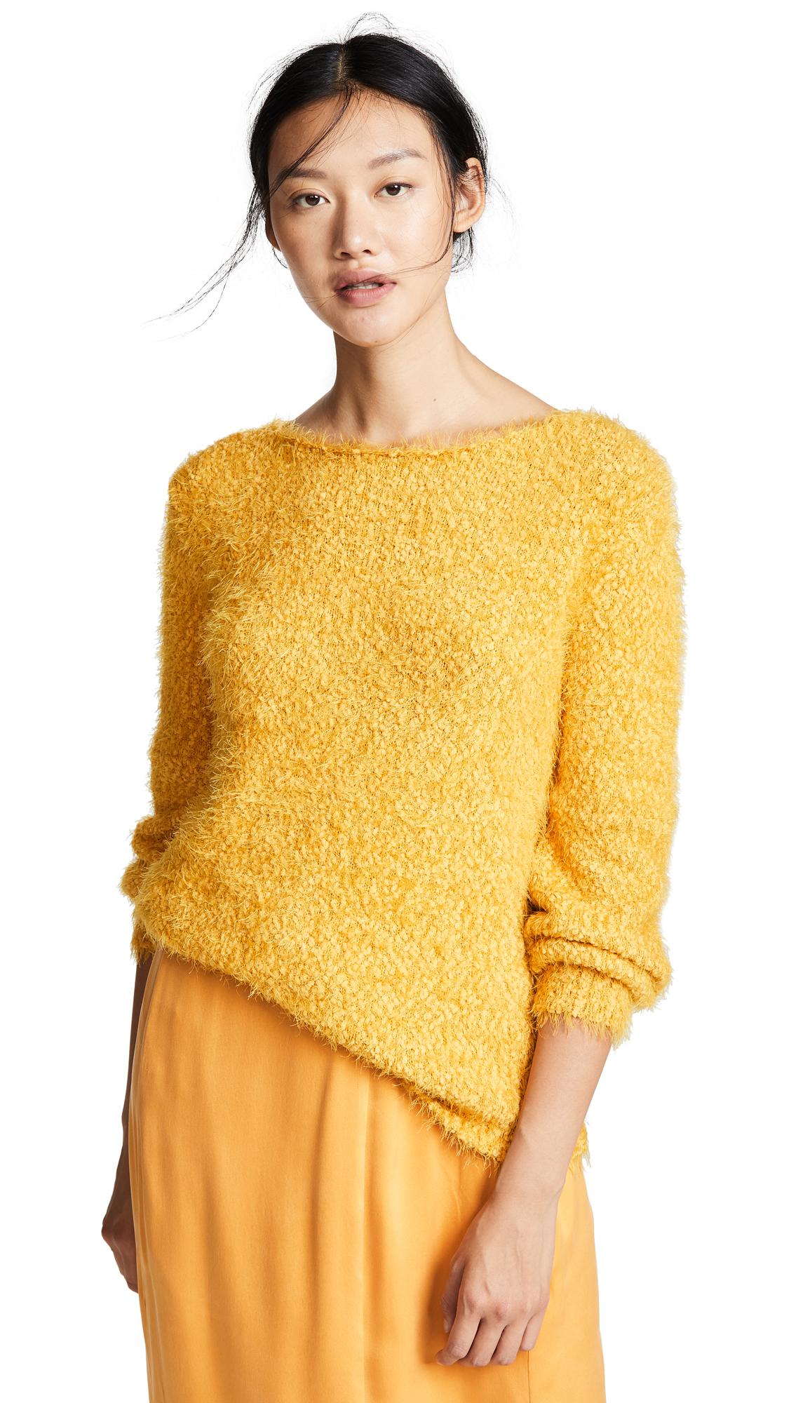 Shrug It Off Boucle Balloon Sleeve Sweater, Mimosa