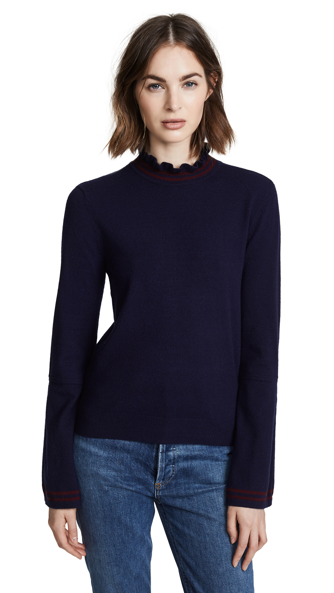 BB Dakota Lost In Translation Sweater In Midnight Sky