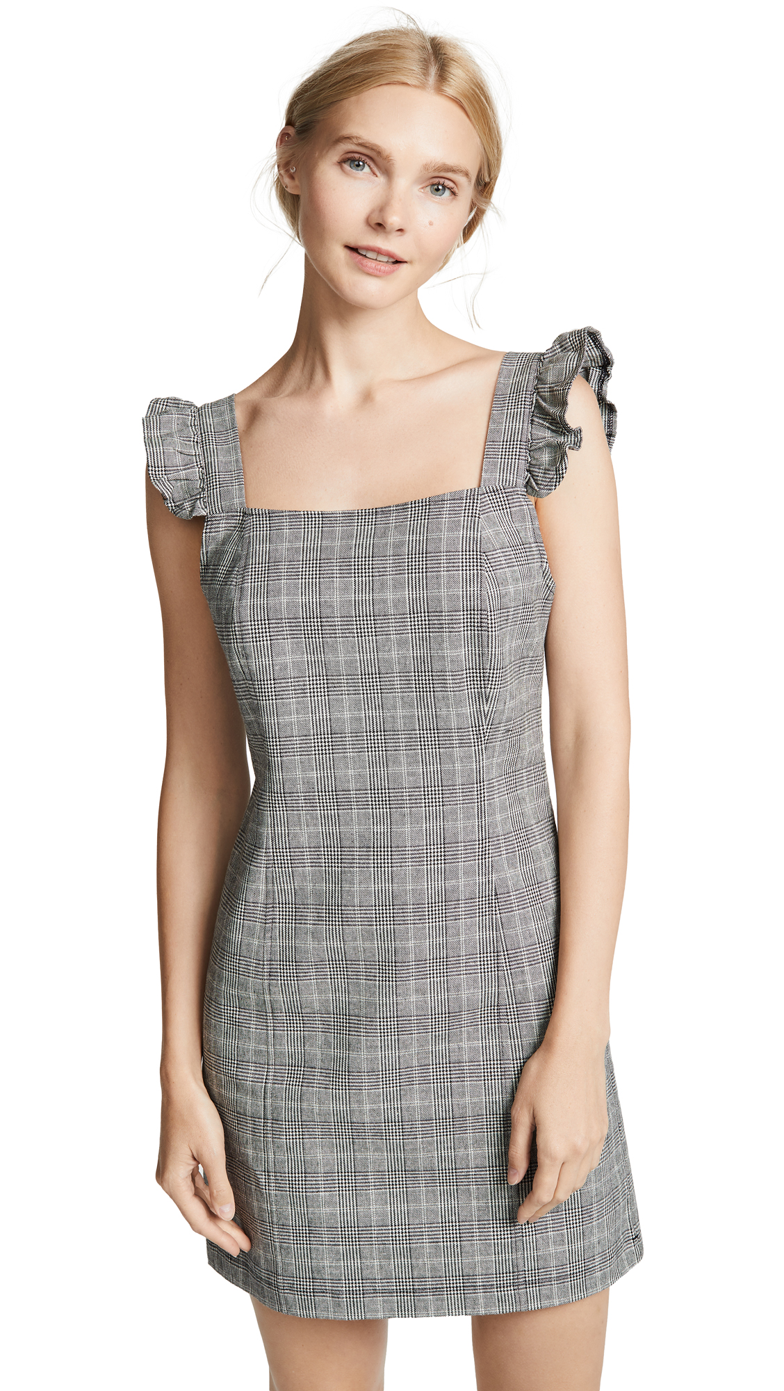 BB Dakota JACK Megan Glencheck Dress