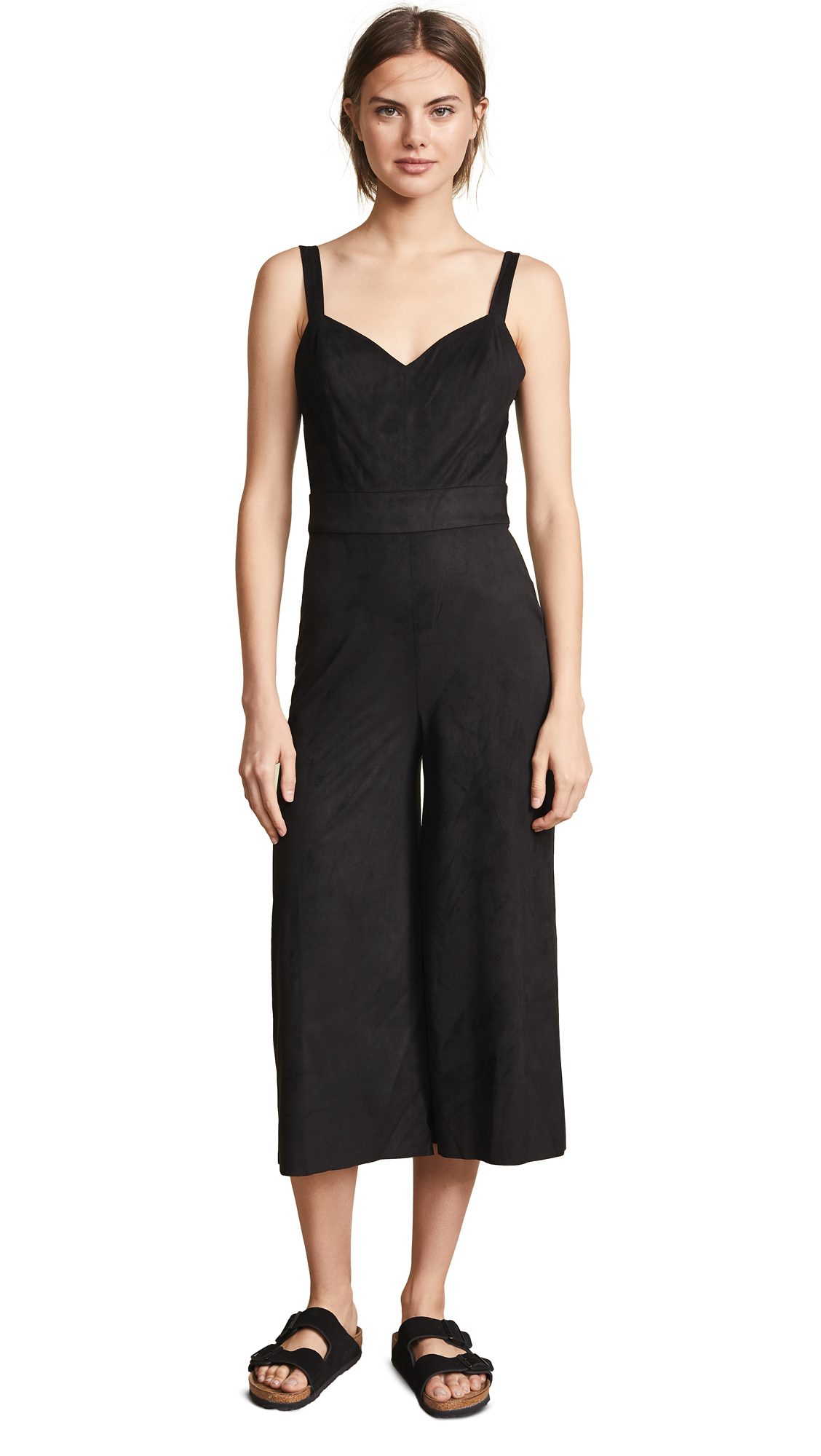 BB Dakota JACK Day N Night Faux Suede Jumpsuit