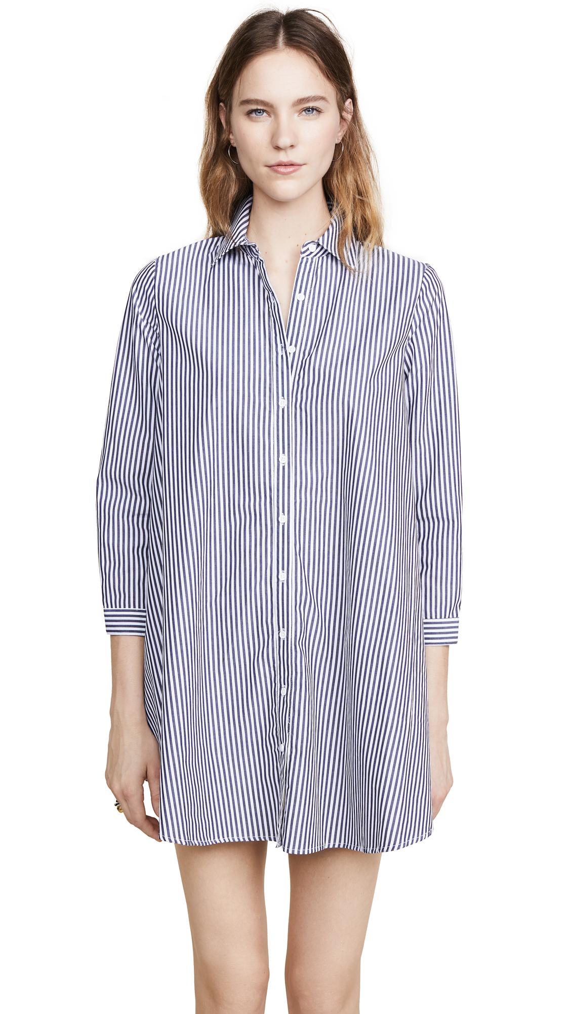 BB Dakota Olsen Shirtdress In Sailor Blue