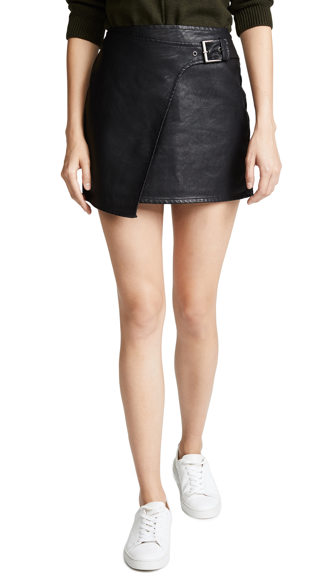 BB Dakota Jack by BB Dakota Fashion Killa Skirt In Black