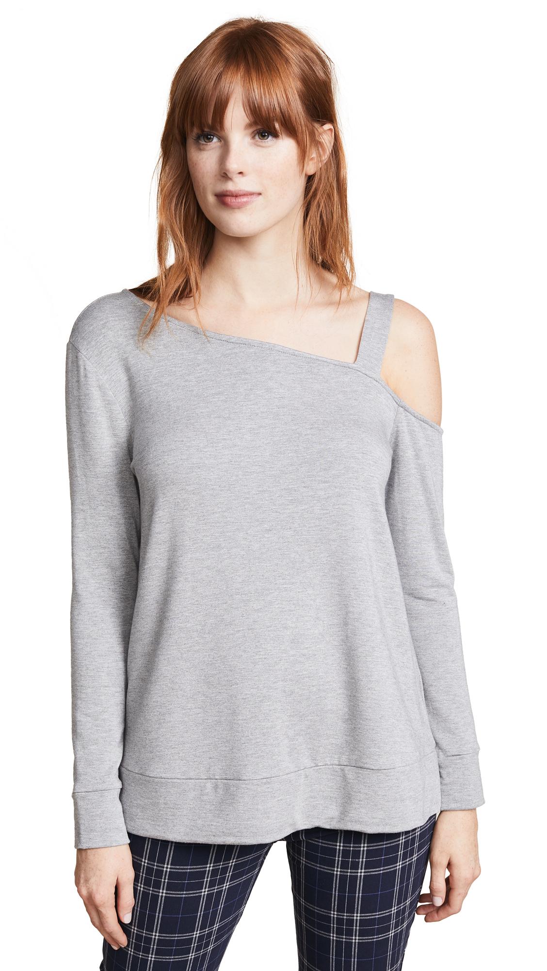 BB Dakota Pick Up The Phone Sweater - Light Heather Grey