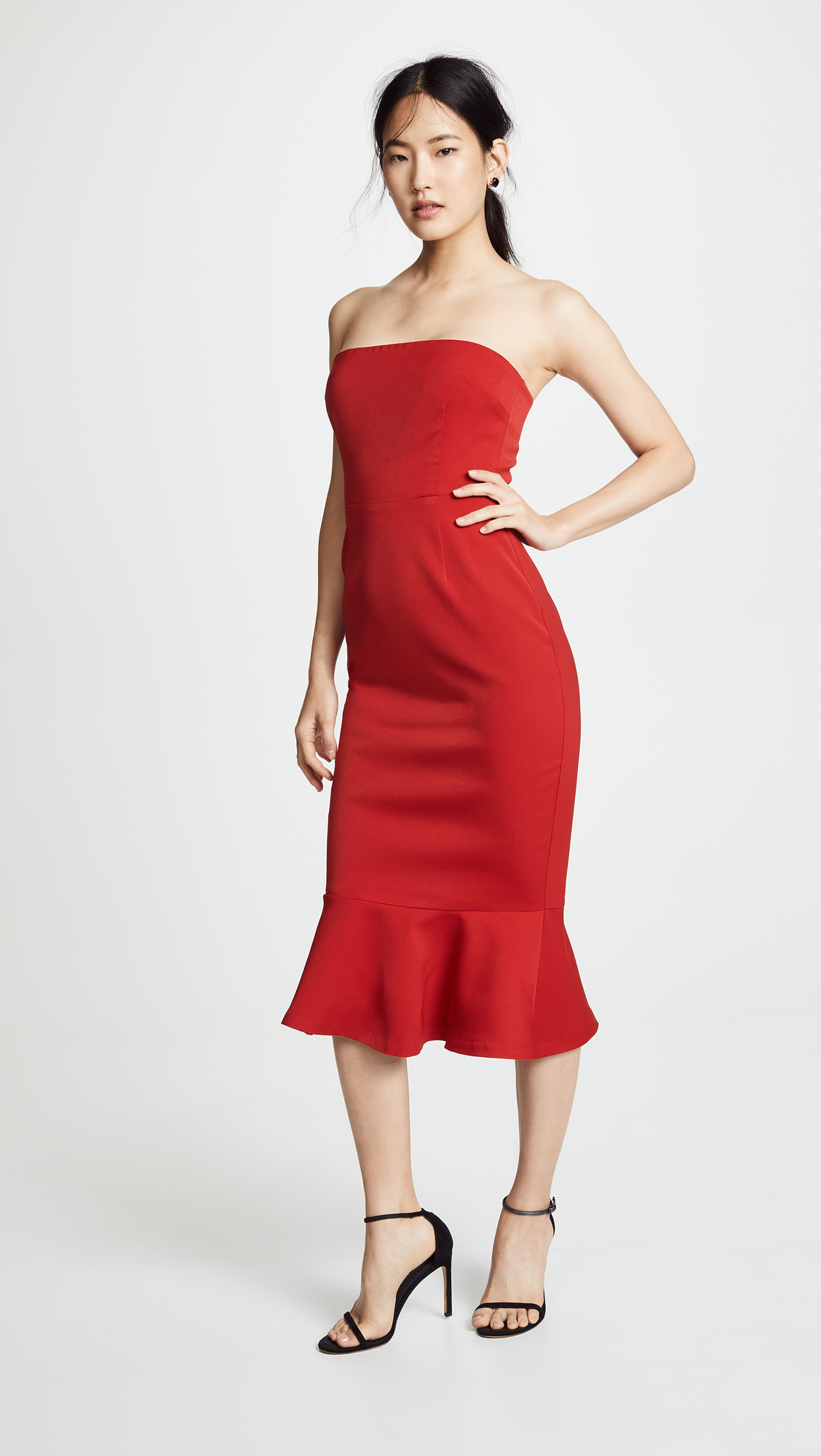 0d5ca1031f BB Dakota Light My Fire Strapless Dress