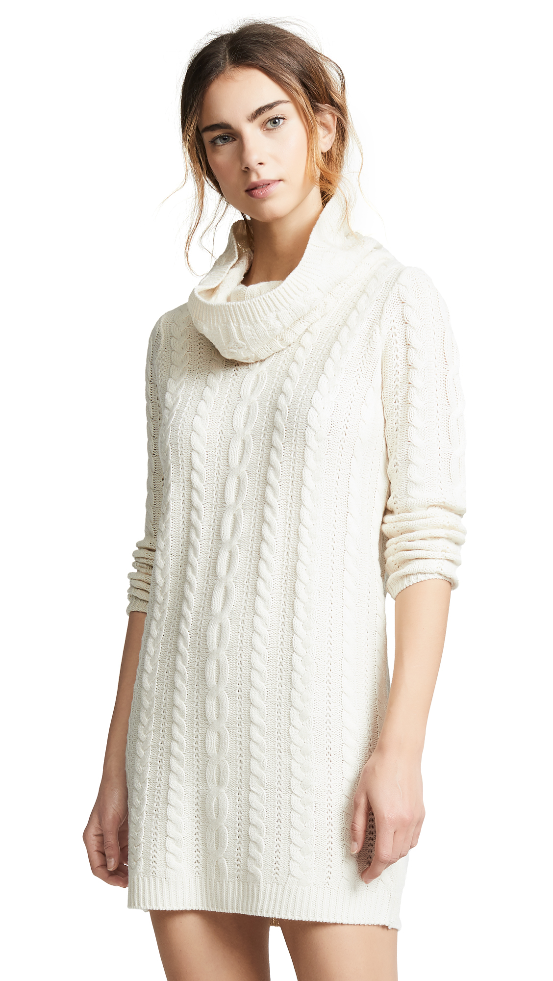 BB Dakota Alaska Sweater Dress - Oatmeal