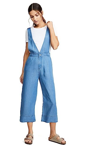 Photo of  BB Dakota Got You Covered Overalls- shop BB Dakota Clothing, Jumpsuits online sales