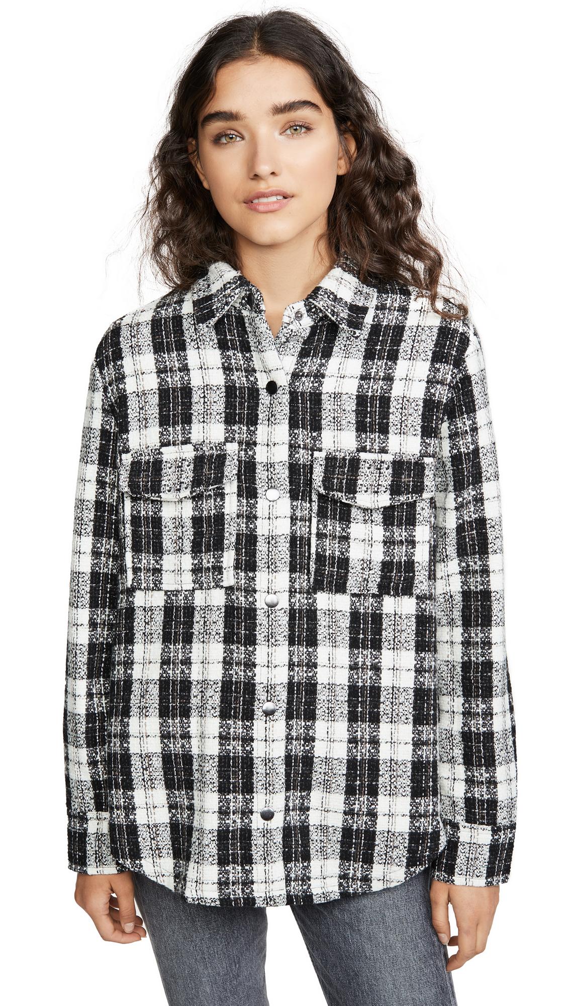 BB Dakota Checkmate Jacket - Black