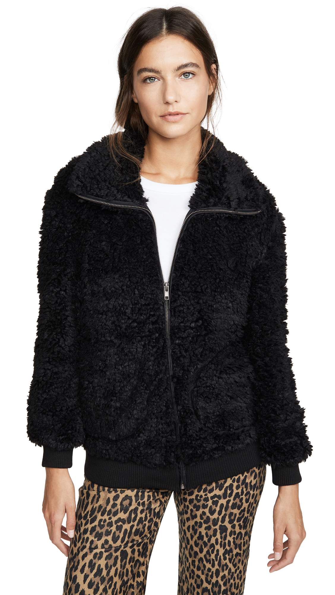 Buy BB Dakota online - photo of BB Dakota Teddy Or Not Bomber Jacket