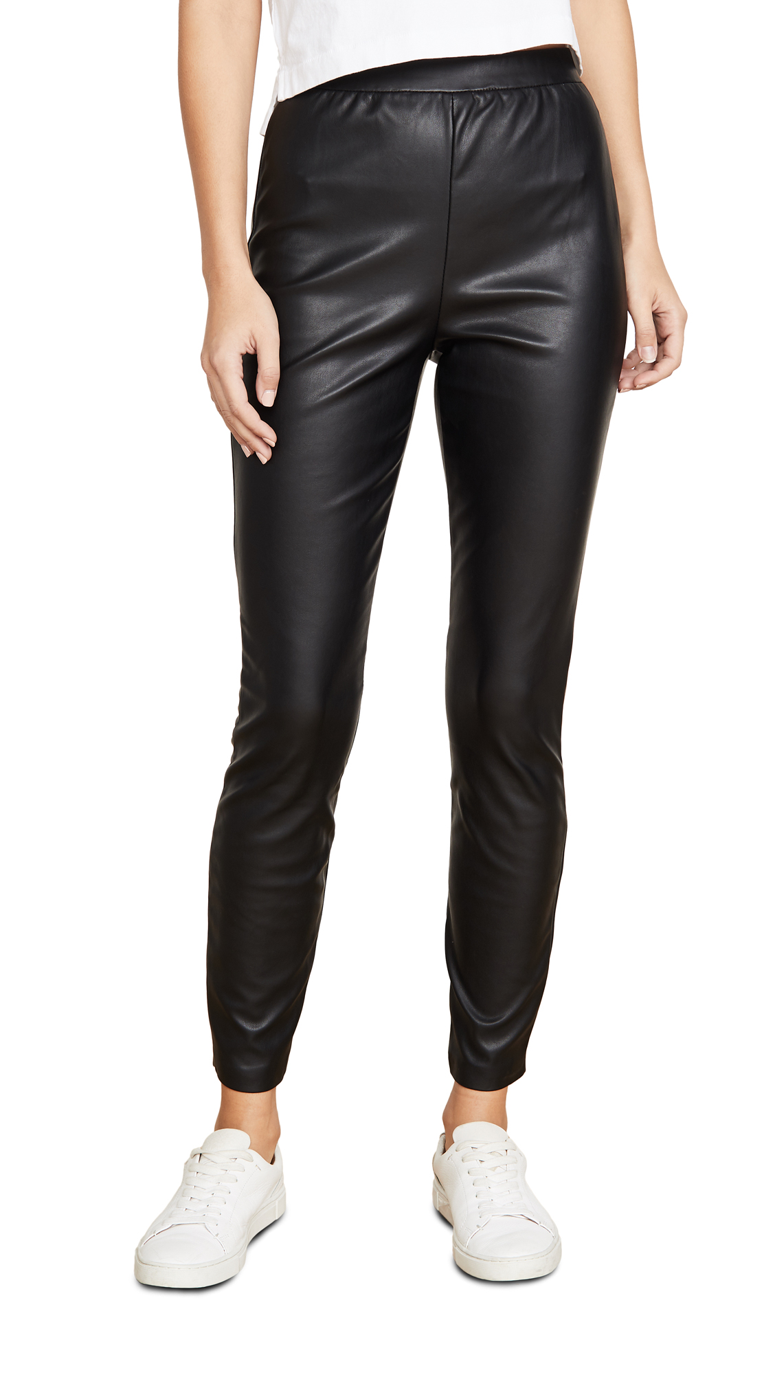 Buy BB Dakota online - photo of BB Dakota Nice Stems Vegan Leather Leggings
