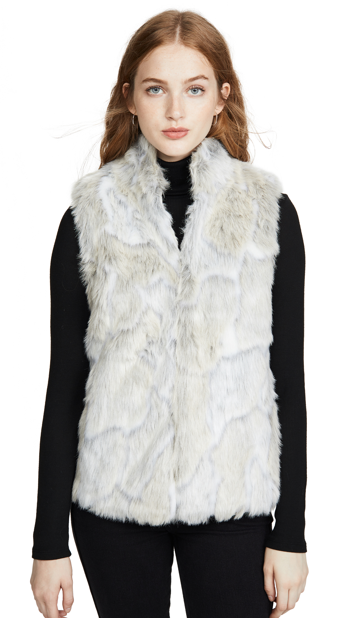 Buy BB Dakota Jack By BB Dakota In A Furry Faux Fur Vest online beautiful BB Dakota Jackets, Coats, Down Jackets