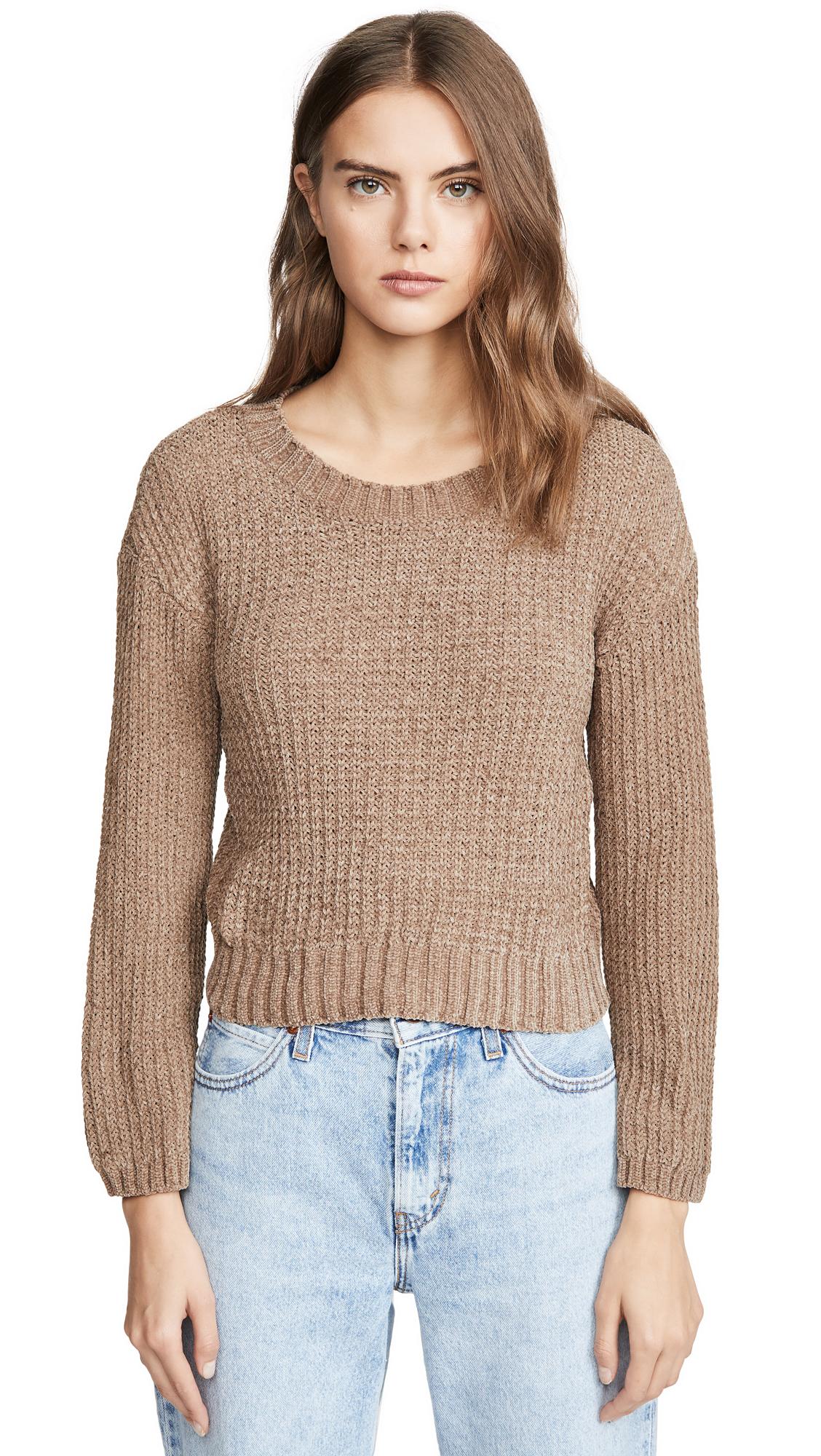 Buy BB Dakota online - photo of BB Dakota Chenille The Deal Sweater
