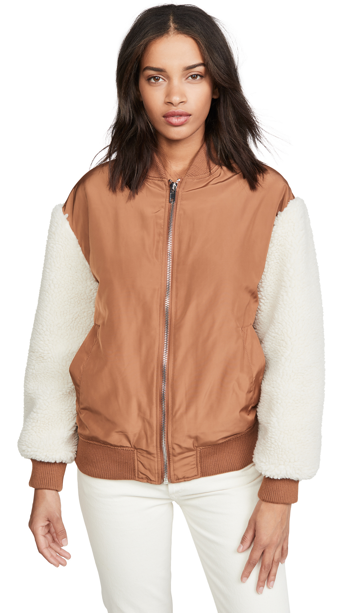 Buy BB Dakota Cool Boss Bomber online beautiful BB Dakota Jackets, Coats, Down Jackets