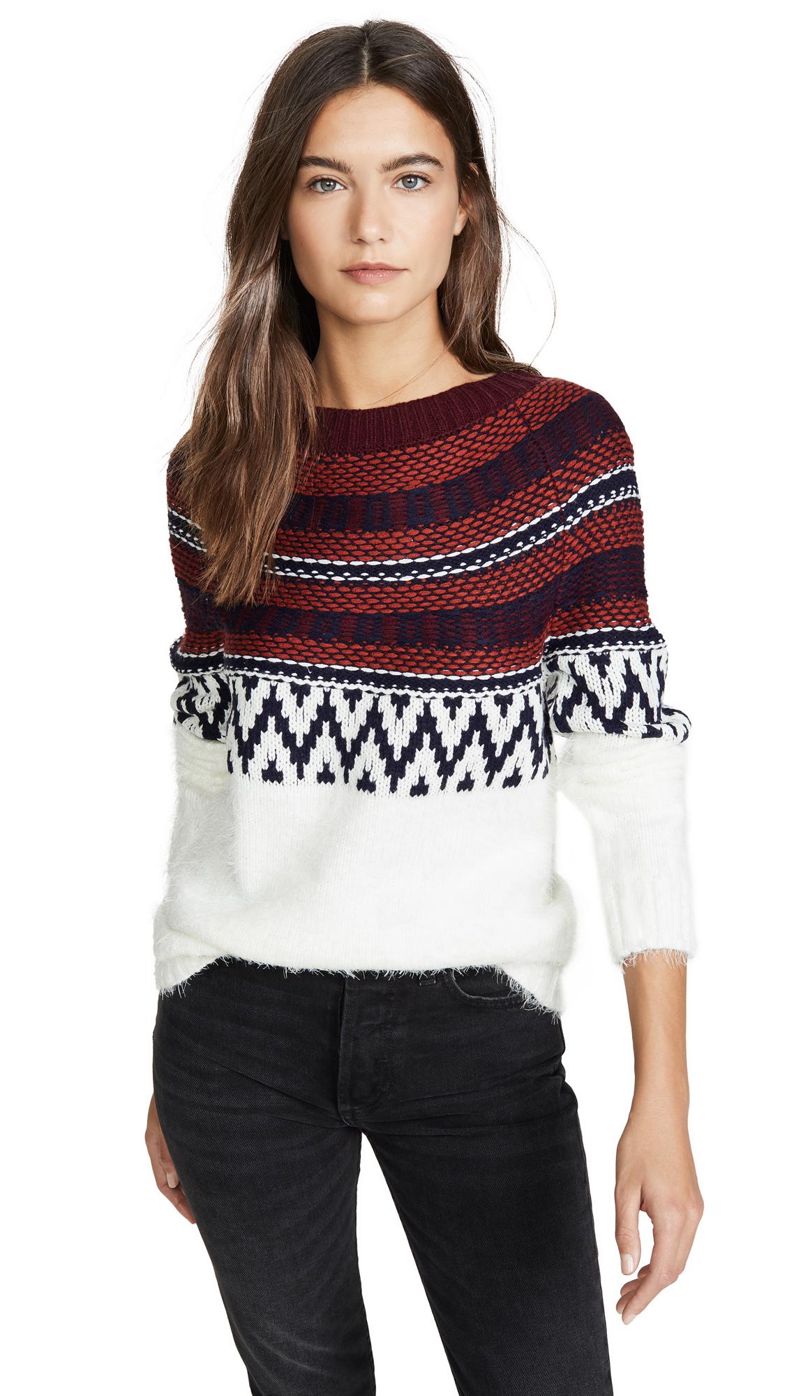 Buy BB Dakota online - photo of BB Dakota Play Fair Isle Sweater