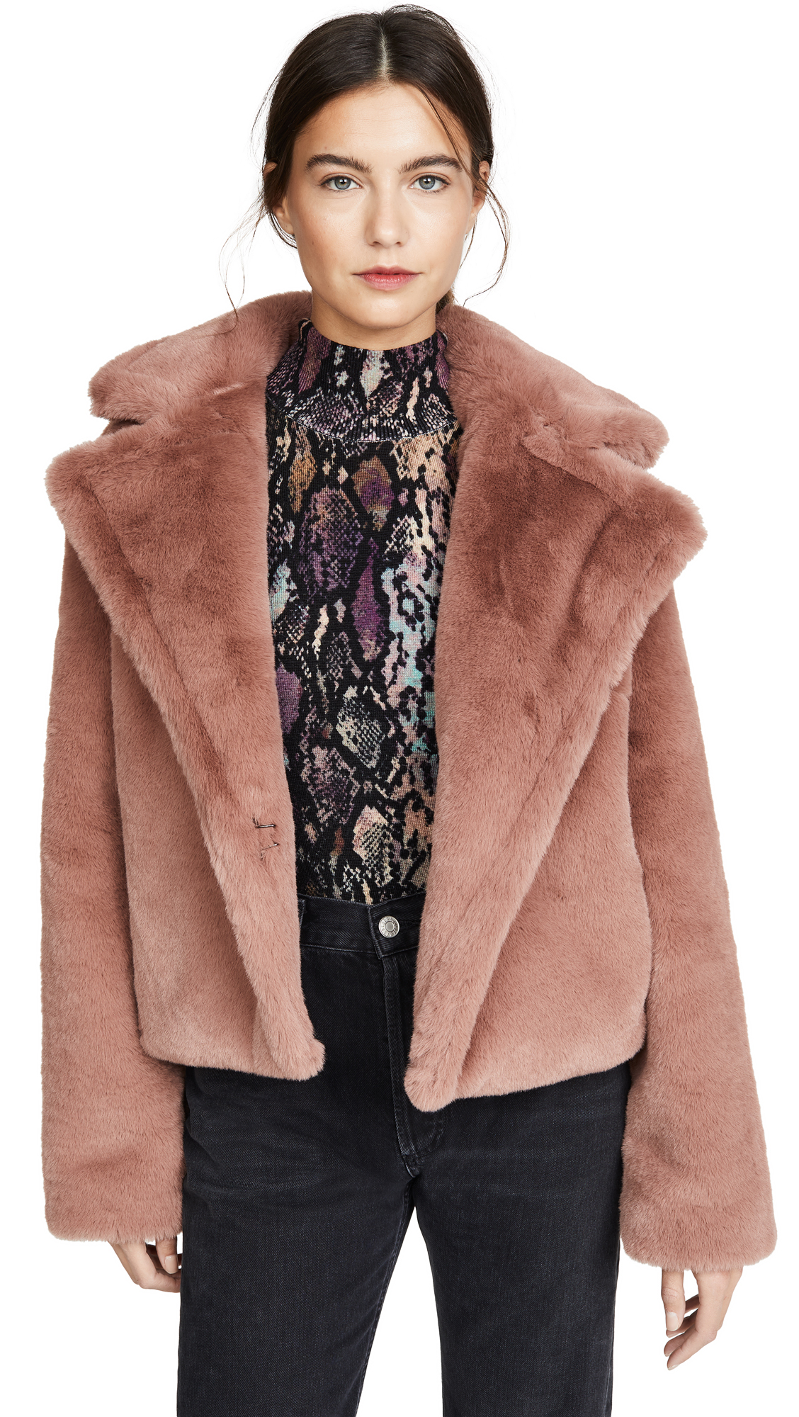 Buy BB Dakota online - photo of BB Dakota Big Time Plush Faux Fur Jacket