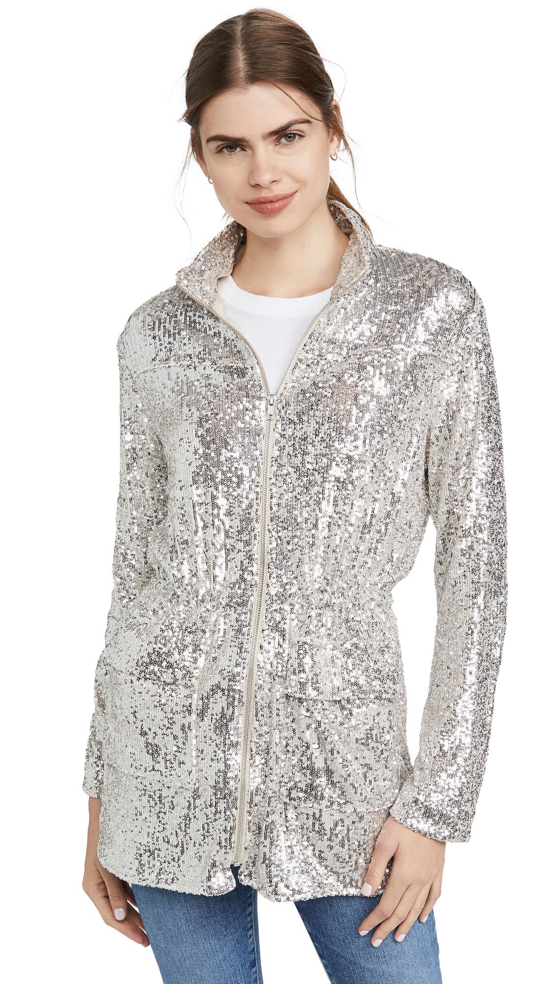 Buy BB Dakota Sequin Premiere Jacket online beautiful BB Dakota Jackets, Coats, Coats