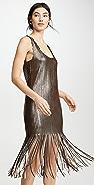 BB Dakota Girl's Best Fringe Dress
