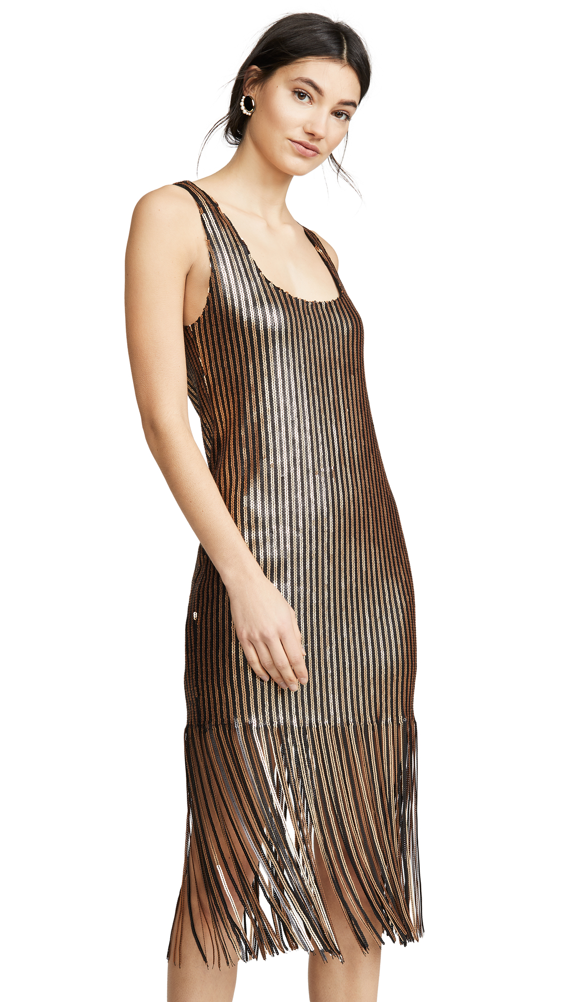 BB Dakota Girl's Best Fringe Dress - 60% Off Sale