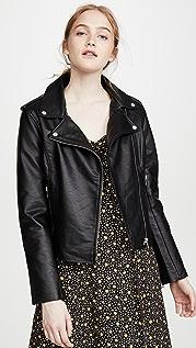 BB Dakota Just Ride Vegan Leather Jacket