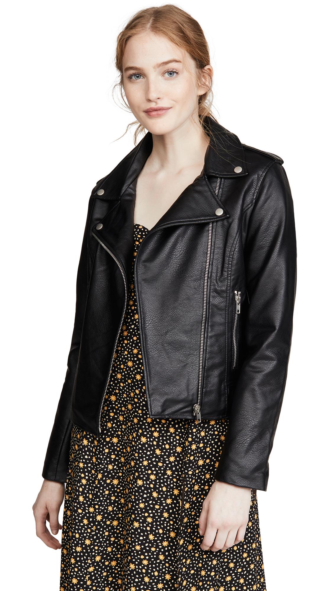 Buy BB Dakota online - photo of BB Dakota Just Ride Vegan Leather Jacket