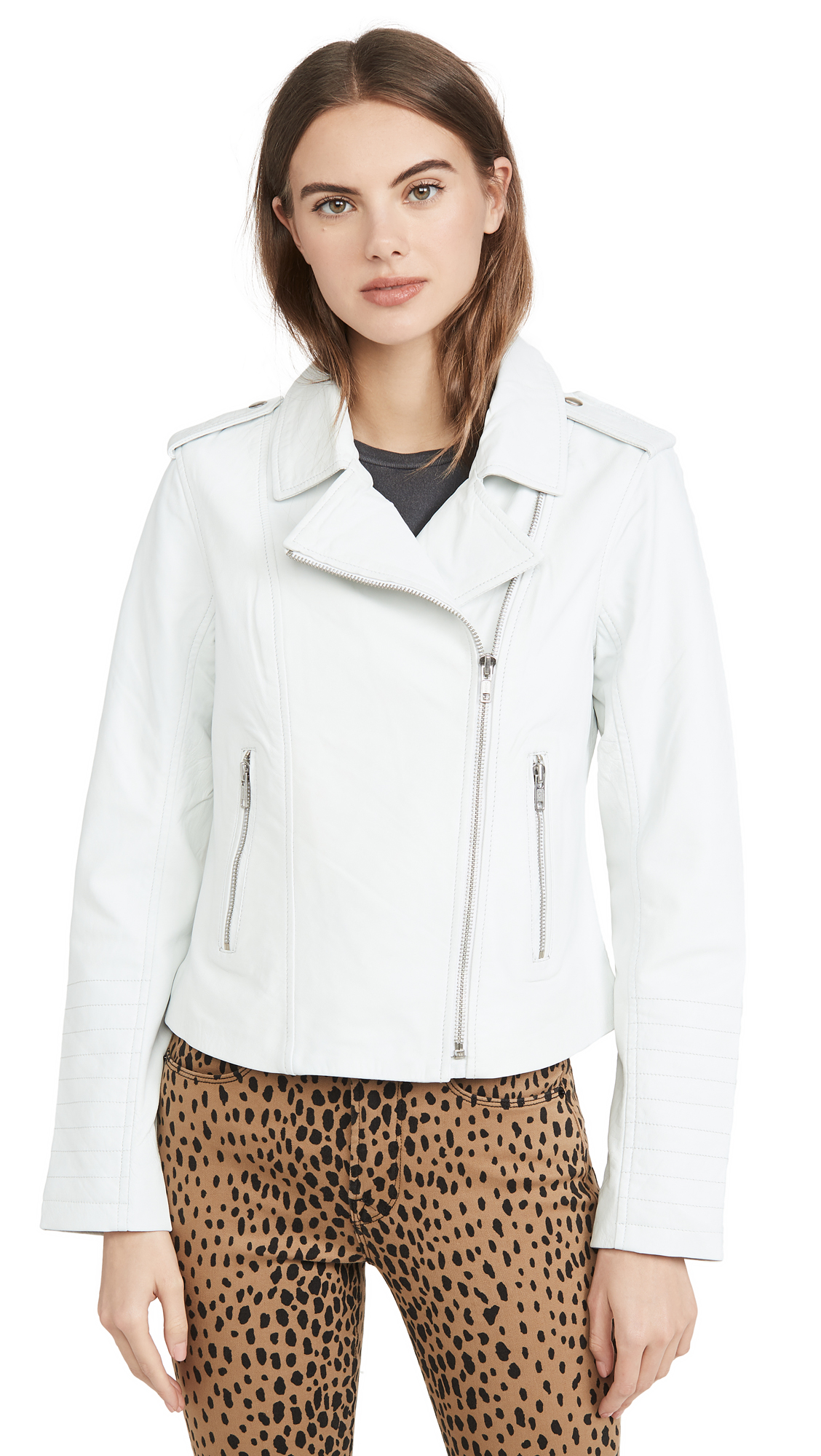 Buy BB Dakota online - photo of BB Dakota Hello Moto Leather Jacket