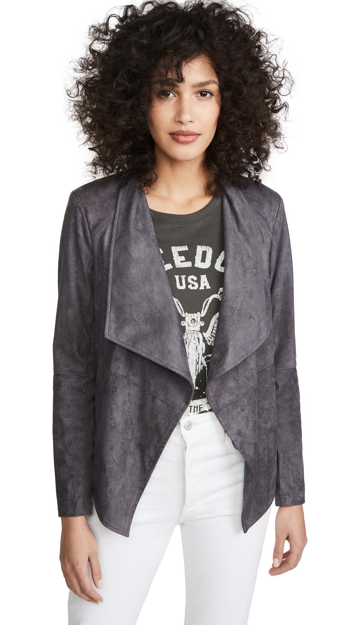 Buy BB Dakota online - photo of BB Dakota Wade Faux Suede Jacket