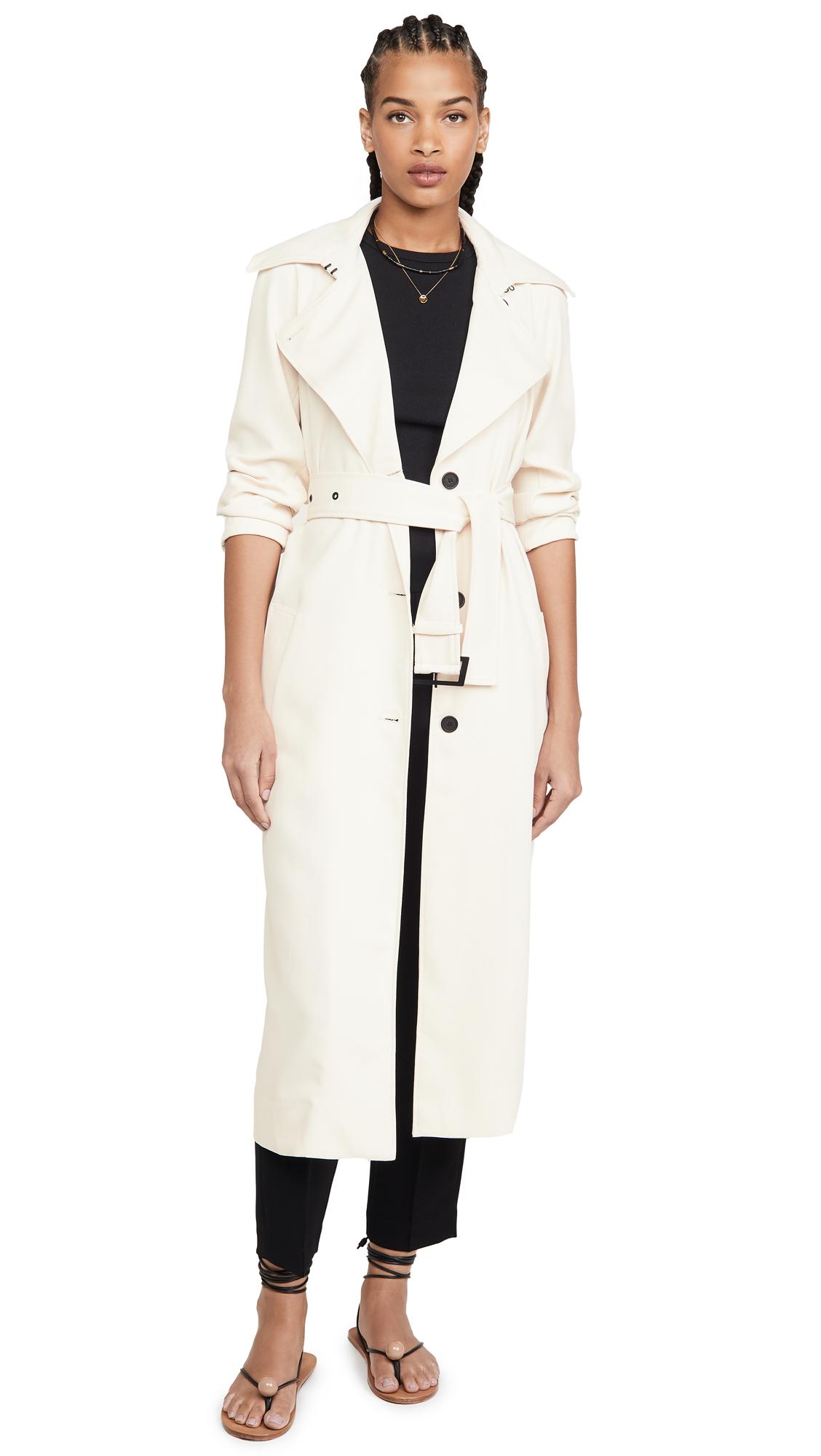Buy BB Dakota I Spy Trench Coat online beautiful BB Dakota Clothing, Jackets