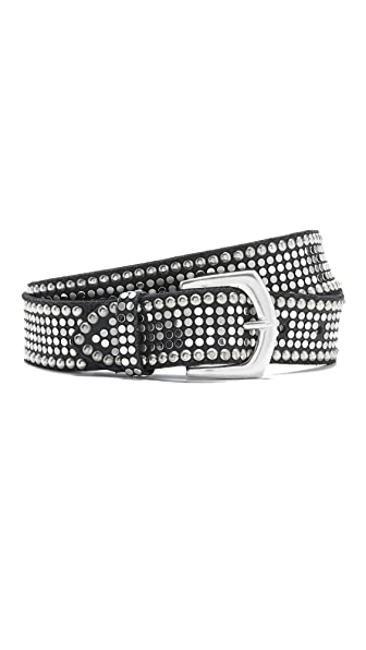 B. Belt Stud Statement Belt