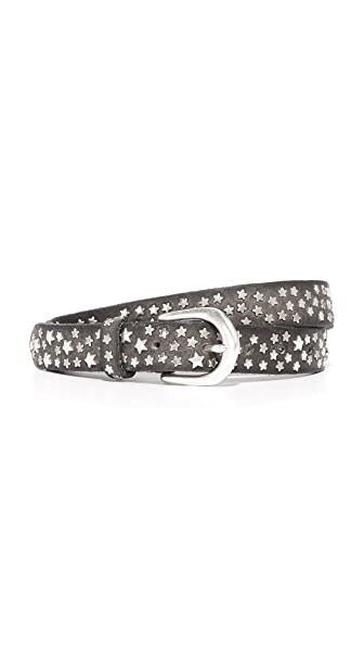B. Belt Star Stud Belt - Charcoal