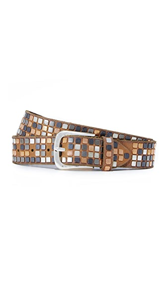 B. Belt Square Studded Belt In Bailey