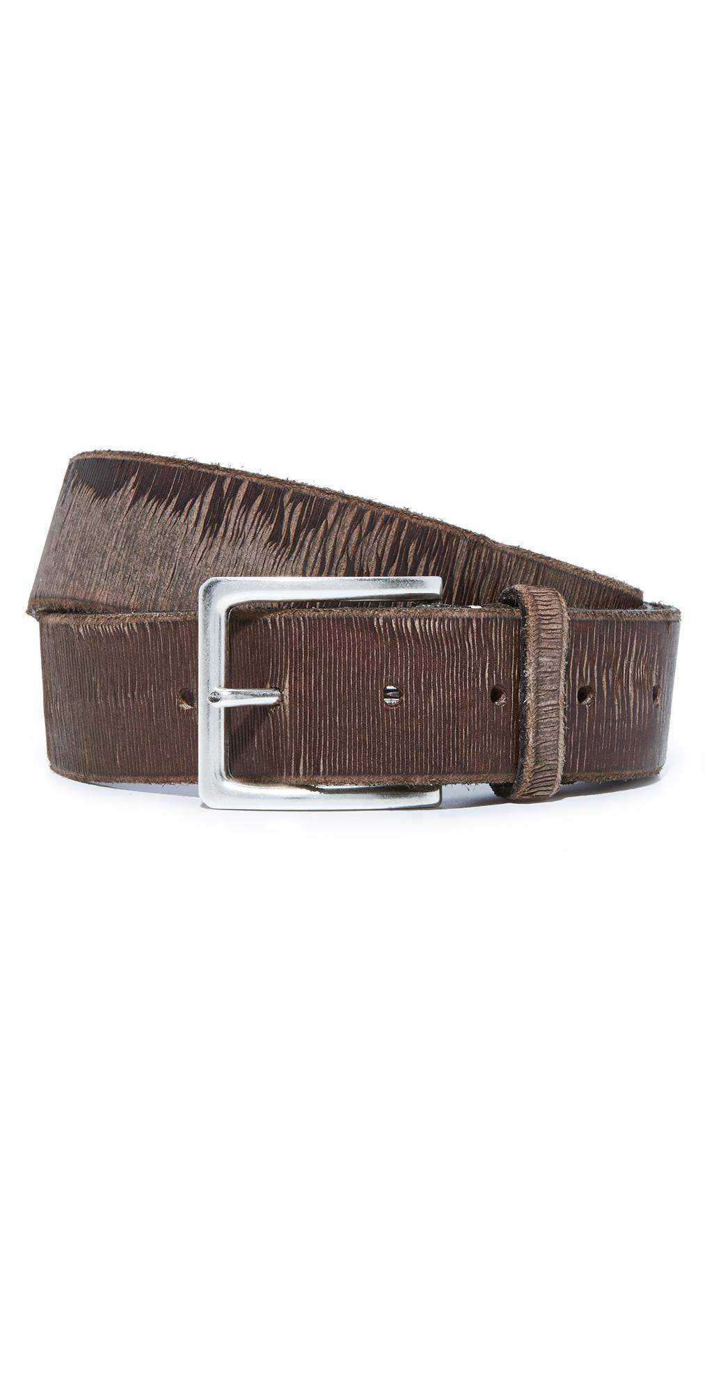 Wide Twill Belt B. Belt
