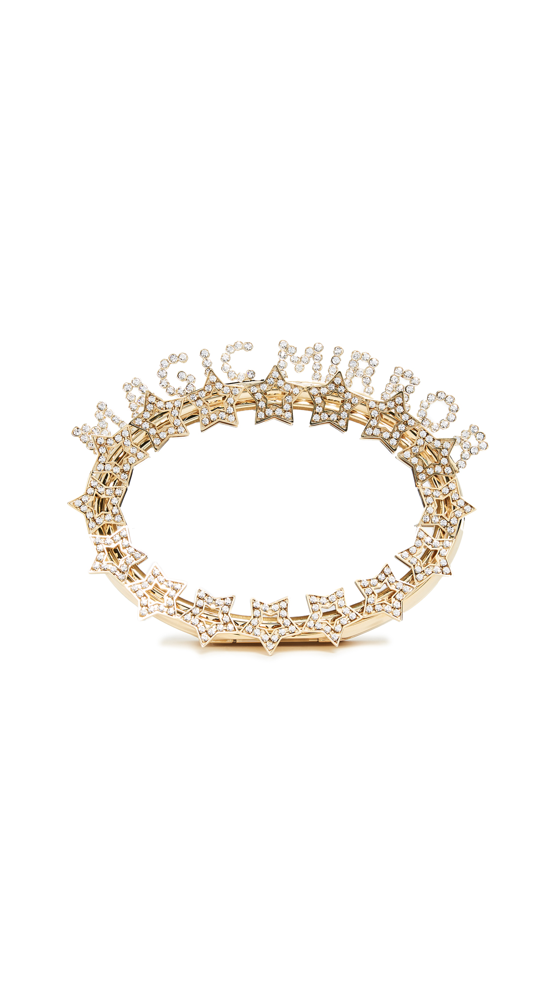 BENEDETTA BRUZZICHES MAGIC MIRROR CLUTCH