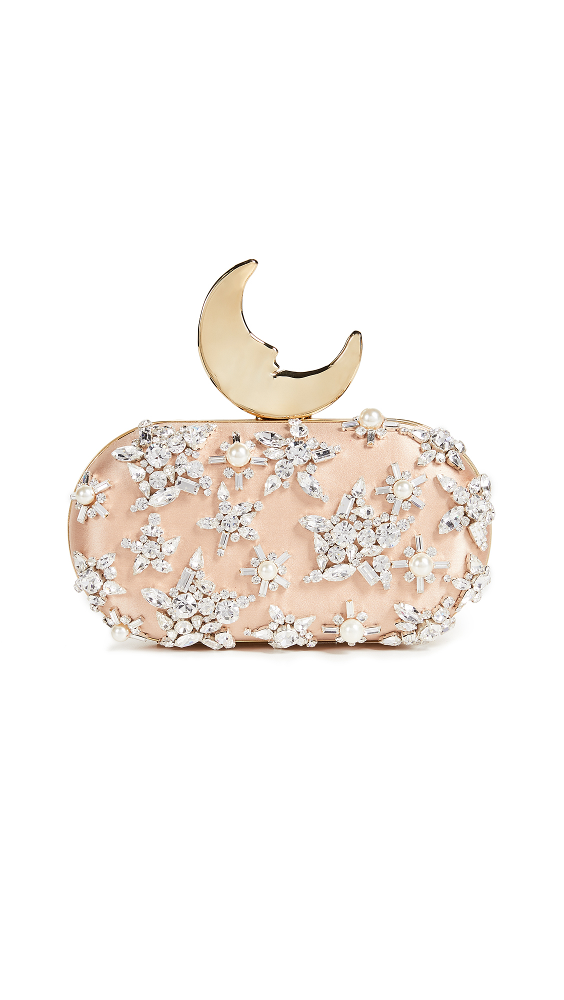 BENEDETTA BRUZZICHES SMILING MOON CLUTCH
