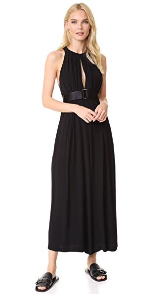 Barbara Bui Sleeveless Jumpsuit In Black