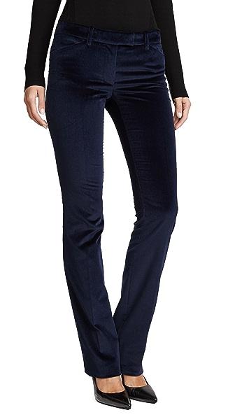 Velvet Flare Pants