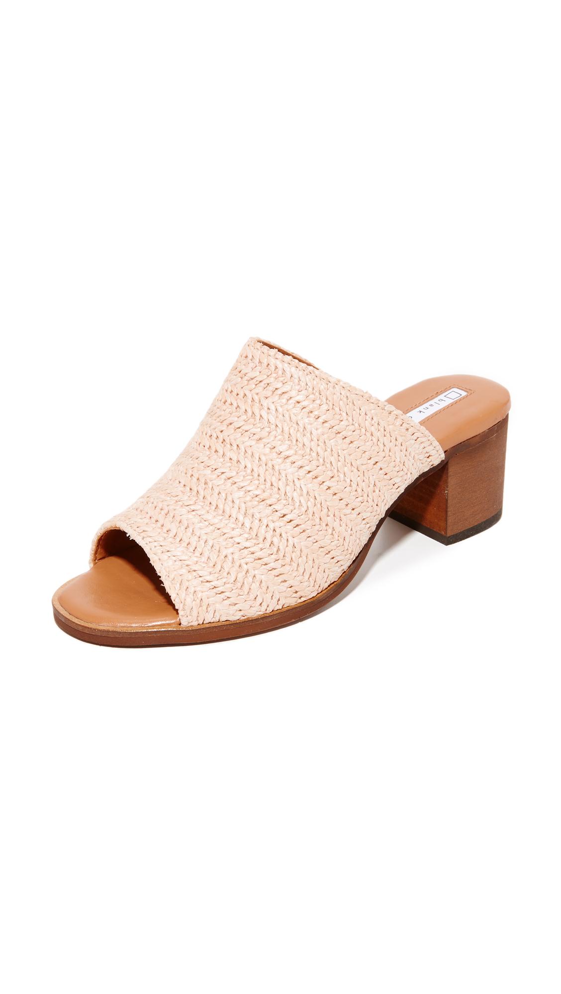 Blank Canvas Raffia City Mule Sandals - Alba at Shopbop