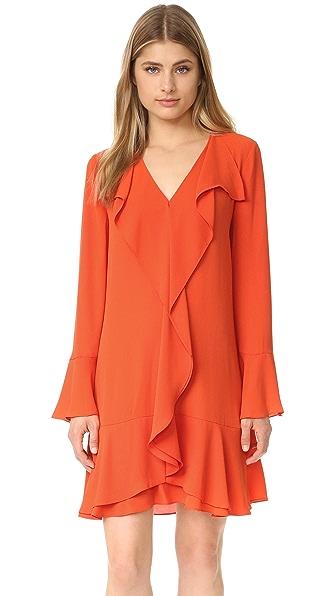 Bcbgmaxazria Flare Dress - Saffron at Shopbop