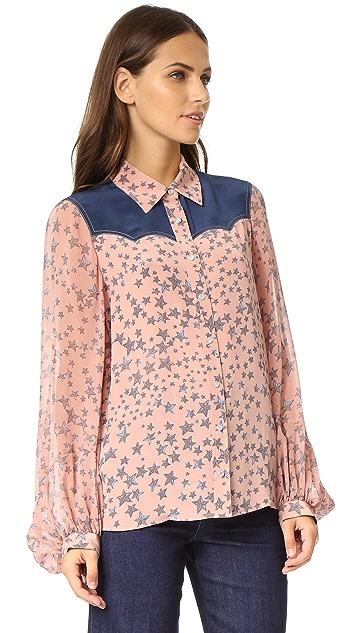 BCBGMAXAZRIA Madison Shirt